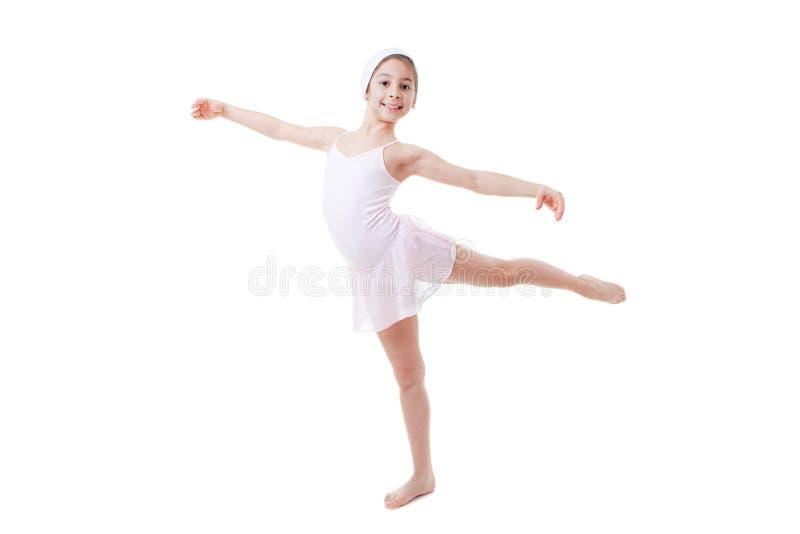 Child ballet pose stock photos