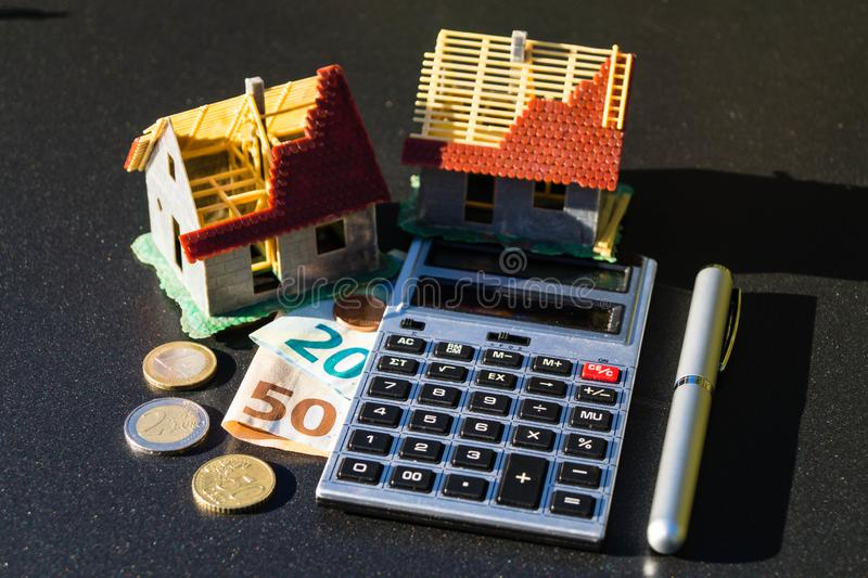 Child benefit to finance a home royalty free stock images
