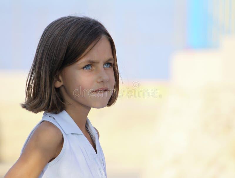 Download Child biting lip stock photo. Image of happiness, childhood - 11746406
