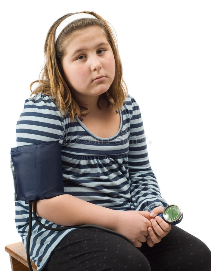 Child Blood Pressure Royalty Free Stock Image