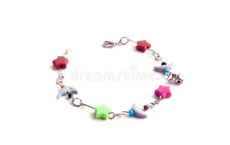 Download Child bracelet stock photo. Image of isolated, objects - 14235726