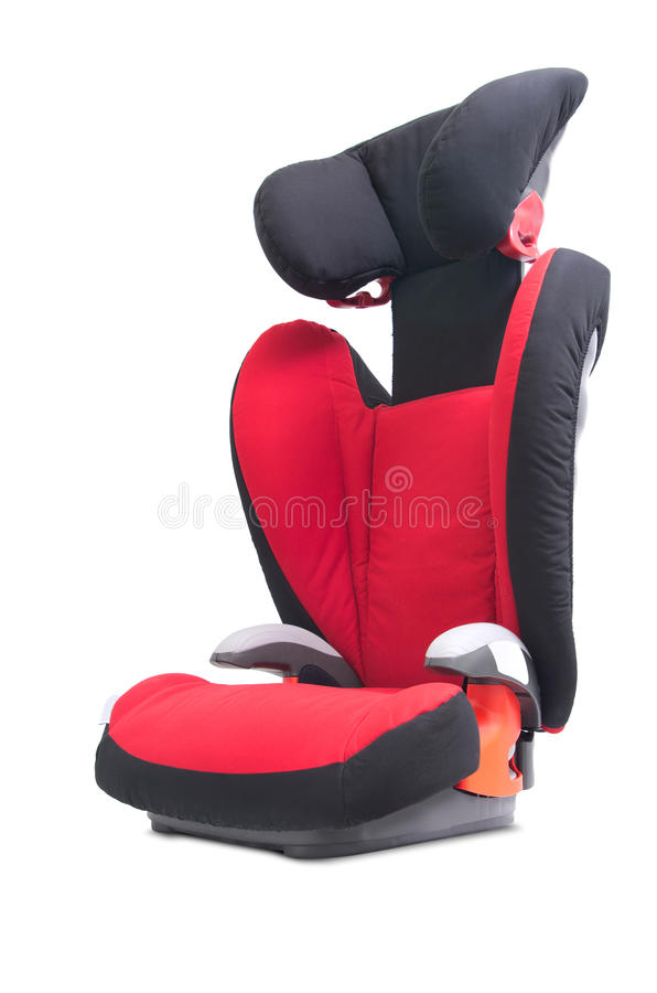 Child car seat stock photo