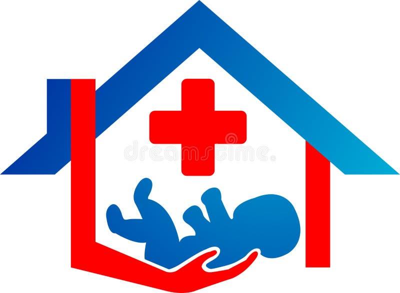 Child Care Logo Royalty Free Stock Photography