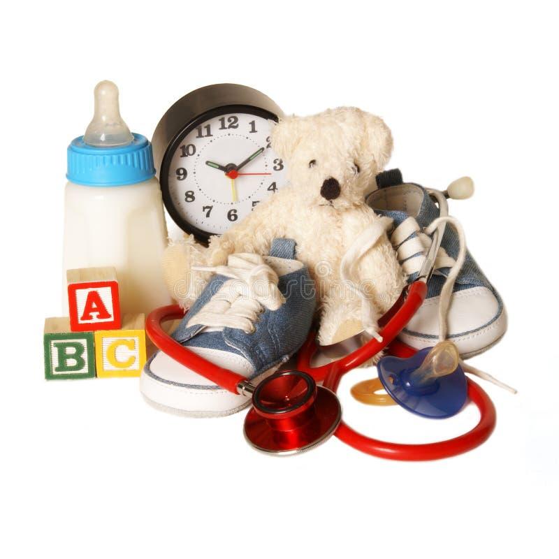 Child Care Pediatrics stock photo