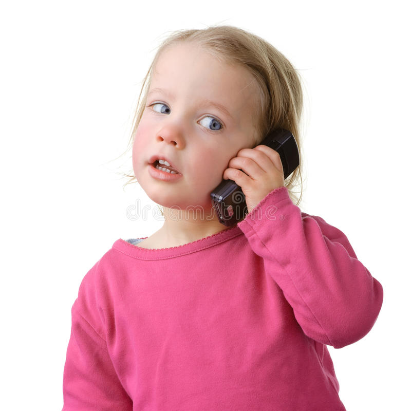 Download Child With Cell Stock Photos - Image: 13744933