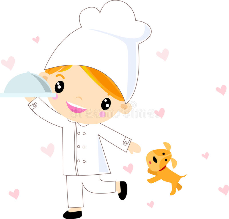 Download Child chef stock vector. Illustration of nutrition, attractive - 27599347