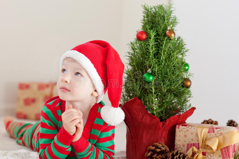 Download Child At Christmas Time Stock Photos - Image: 31788453