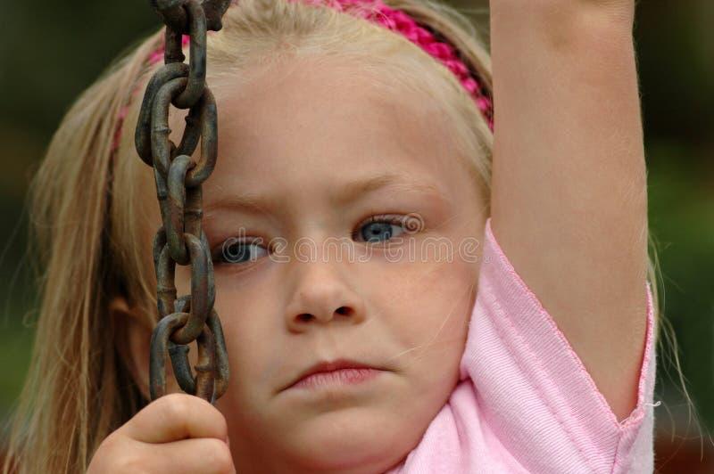 Child climbing up royalty free stock photo