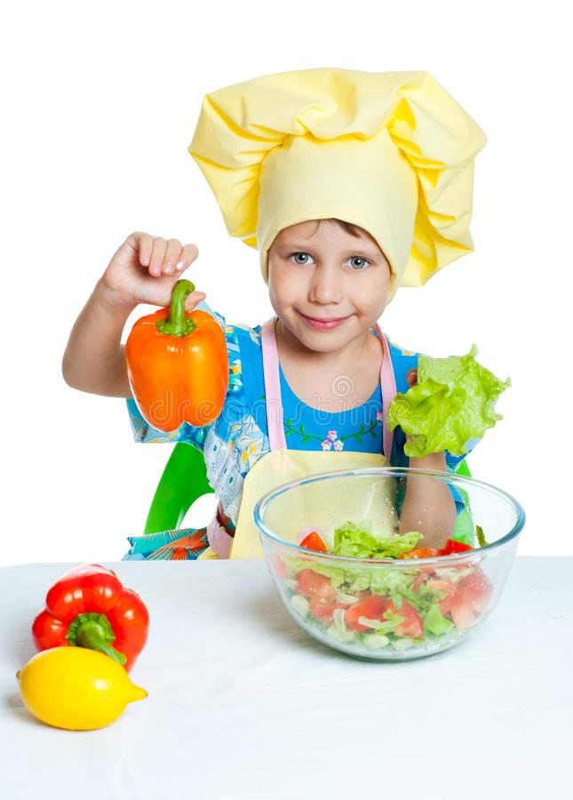 Child Cook Royalty Free Stock Image