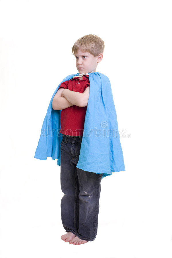 Child in Costume royalty free stock images