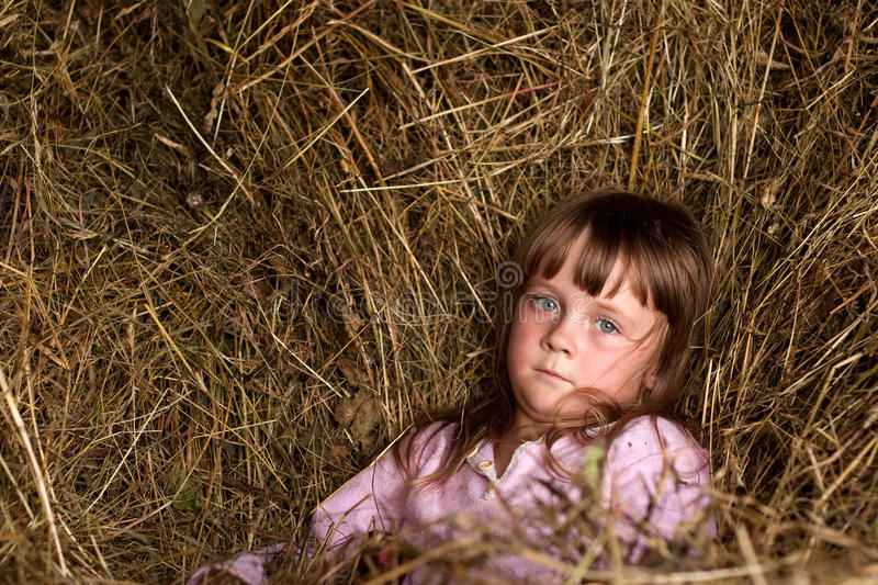 Download Child in countryside stock image. Image of cute, people - 11465443
