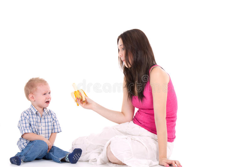 Download Child crying stock photo. Image of isolated, baby, depressed - 21382828