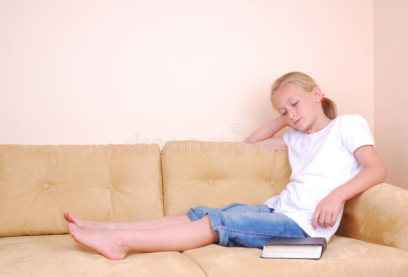 Child depression royalty free stock images