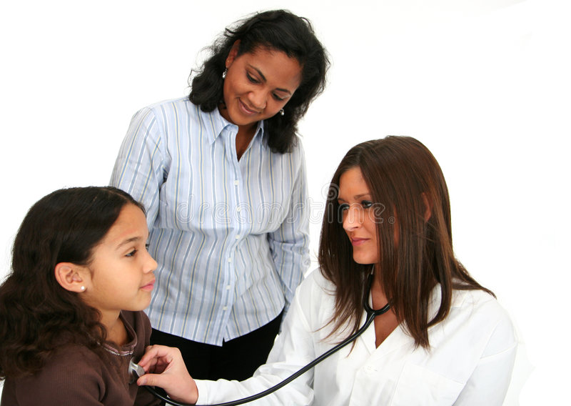 Download Child At Doctor stock photo. Image of child, happy, patient - 4288980