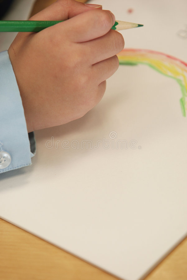 Download Child Draw Stock Photography - Image: 8446742