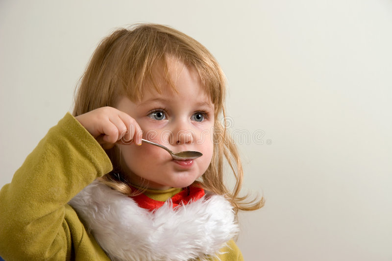 Download Child eating stock photo. Image of hand, funny, restaurant - 1600712