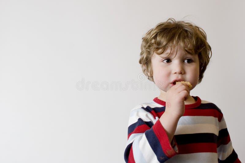 Child Eating royalty free stock photo