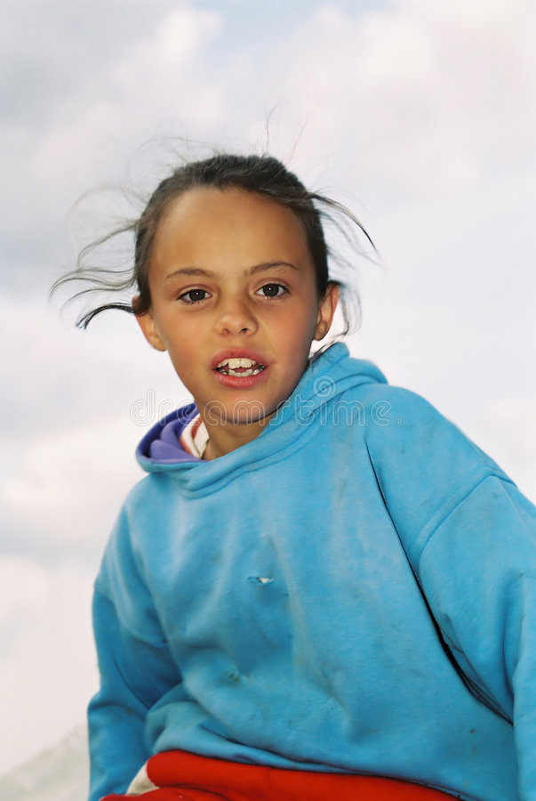 Download Child Enjoying stock photo. Image of girl, beauty, innocent - 81122