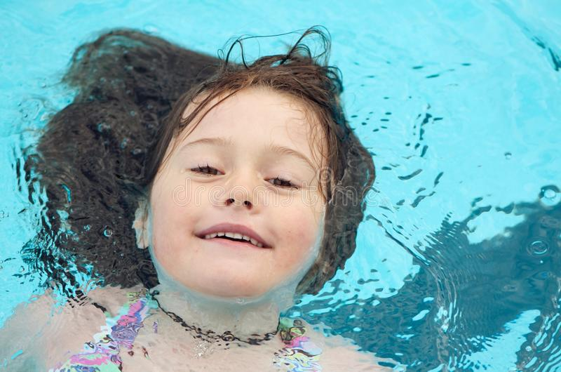 Download Child Enjoying A Swim Royalty Free Stock Photography - Image: 18964617