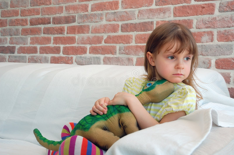 Download Child with a favourite toy stock image. Image of games - 8414429