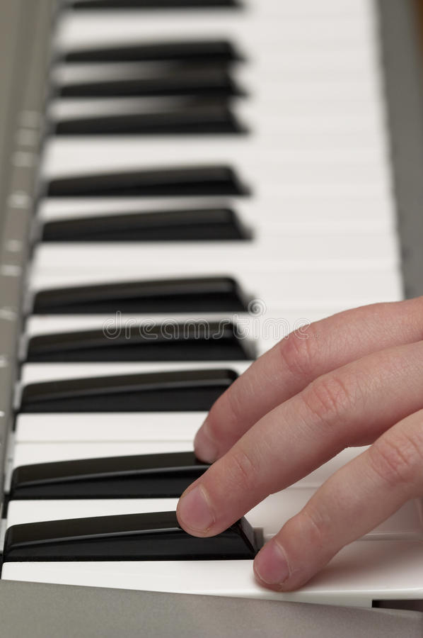 Download Child fingers on piano stock image. Image of keyboard - 11546483
