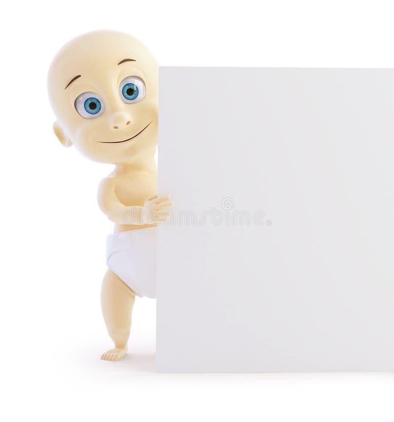 Download Child form stock illustration. Image of newborn, diaper - 28938110