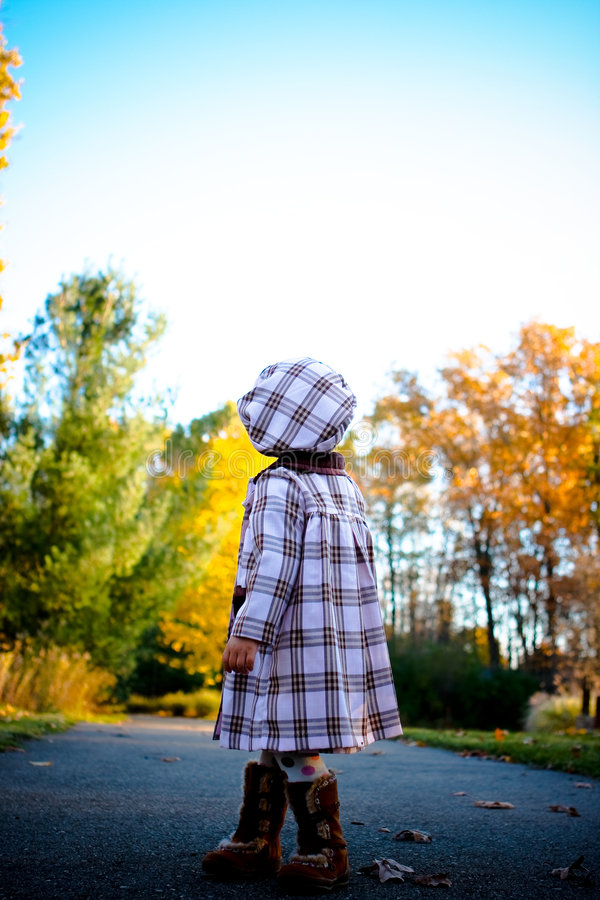 Free Child From Behind Stock Photos - 4651183