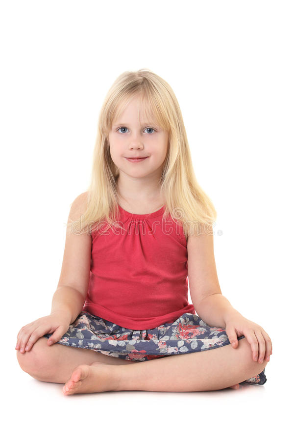 Download Child girl stock image. Image of looking, little, cute - 19771041