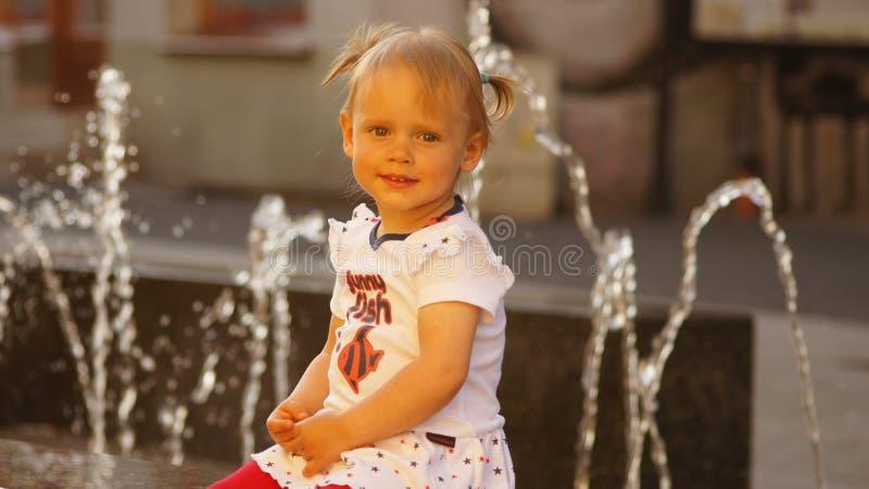 Child, Girl, Toddler, Smile stock photo