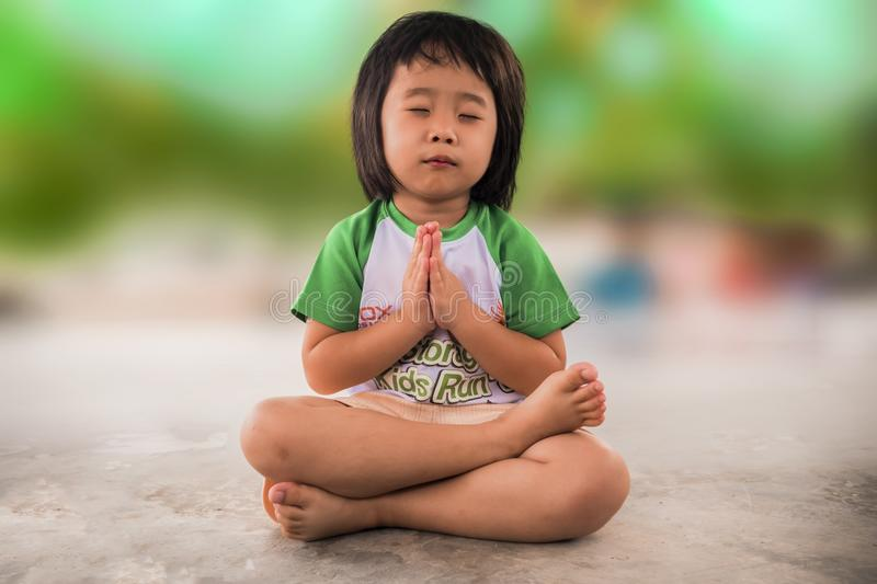 Child, Green, Sitting, Skin stock images