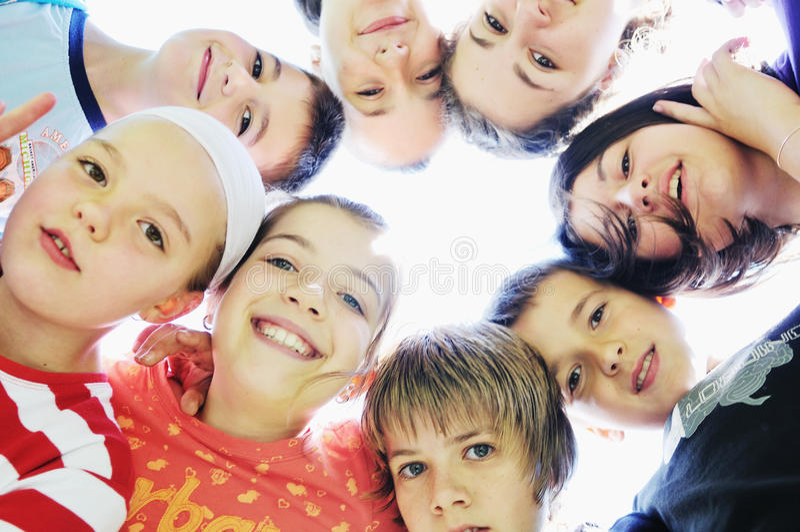Child group stock image