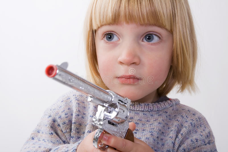 Download Child Gun Royalty Free Stock Photo - Image: 11961165