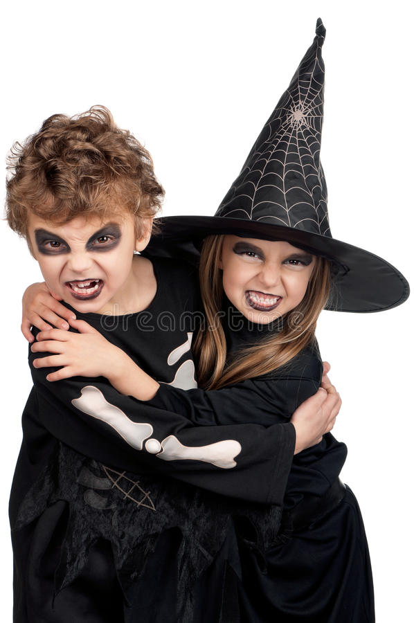 Download Child in halloween costume stock image. Image of child - 26034975