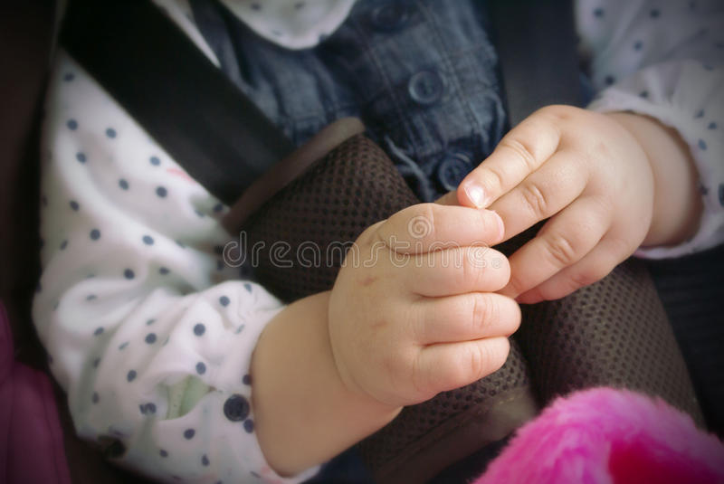 The child. The hands of the child expresses love, positive emotional attitudes to other people royalty free stock images