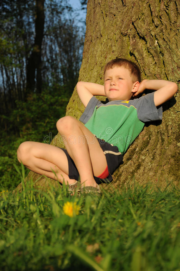 Download Child Having Relax Stock Images - Image: 24705254