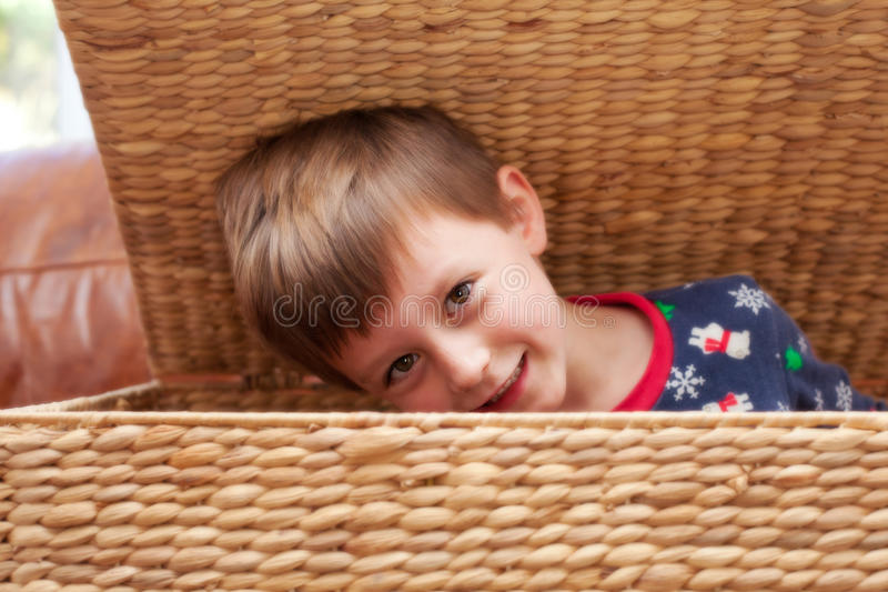 Download Child hiding stock photo. Image of smile, playful, young - 26711758
