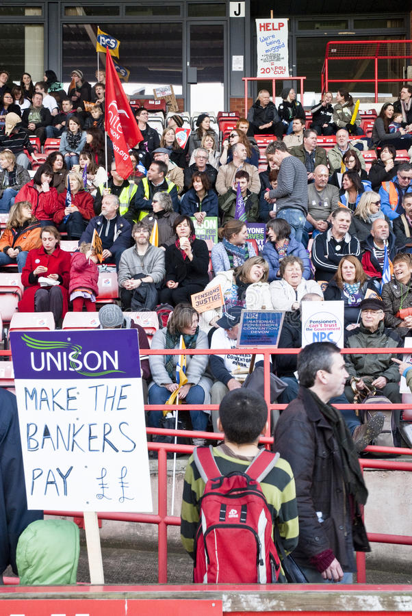 Download Child Holding A UNISON Placards Saying Editorial Stock Photo - Image: 22446138
