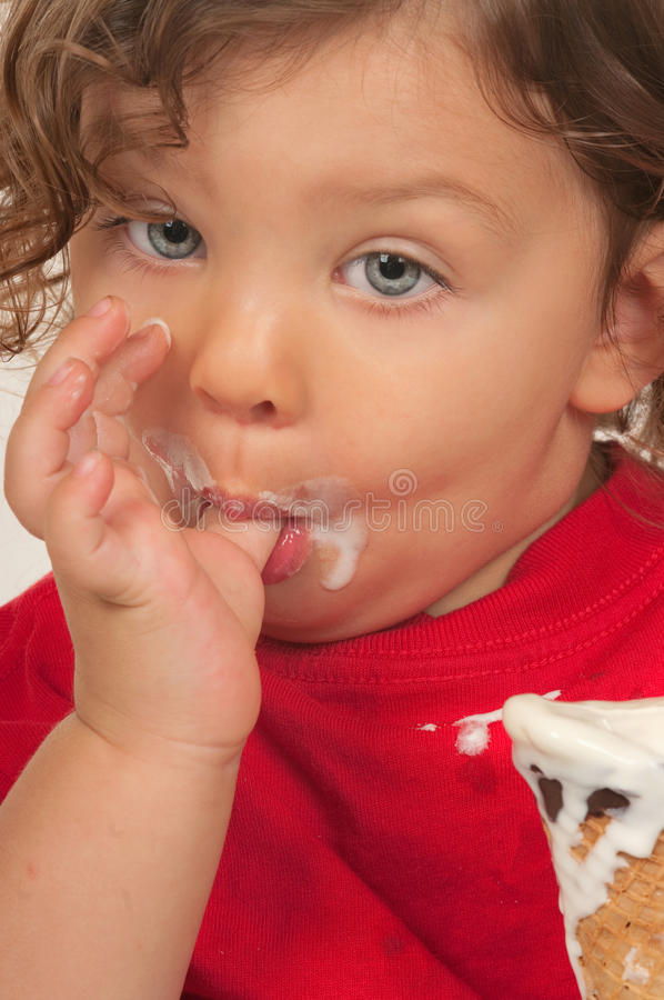 Download Child and Ice Cream stock photo. Image of child, tasty - 21952616