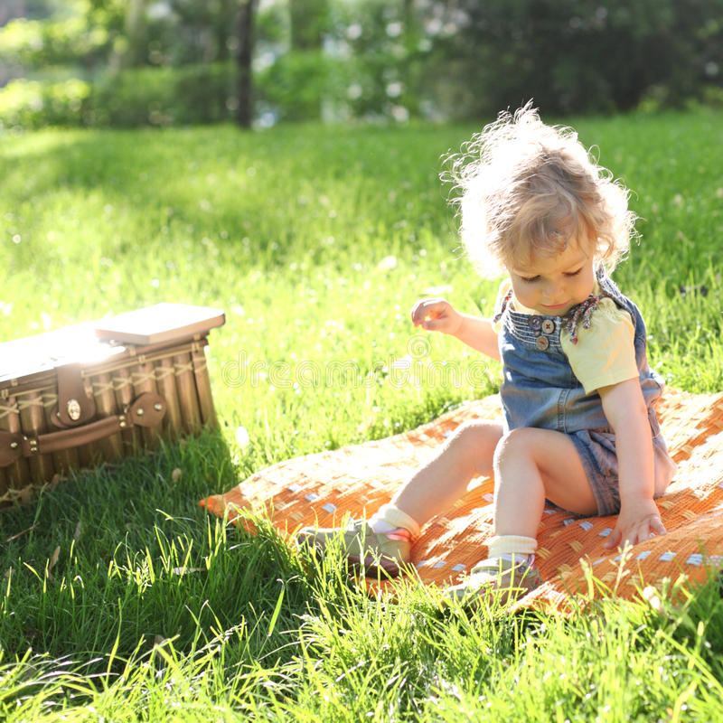Free Child In Summer Park Stock Photos - 19466023