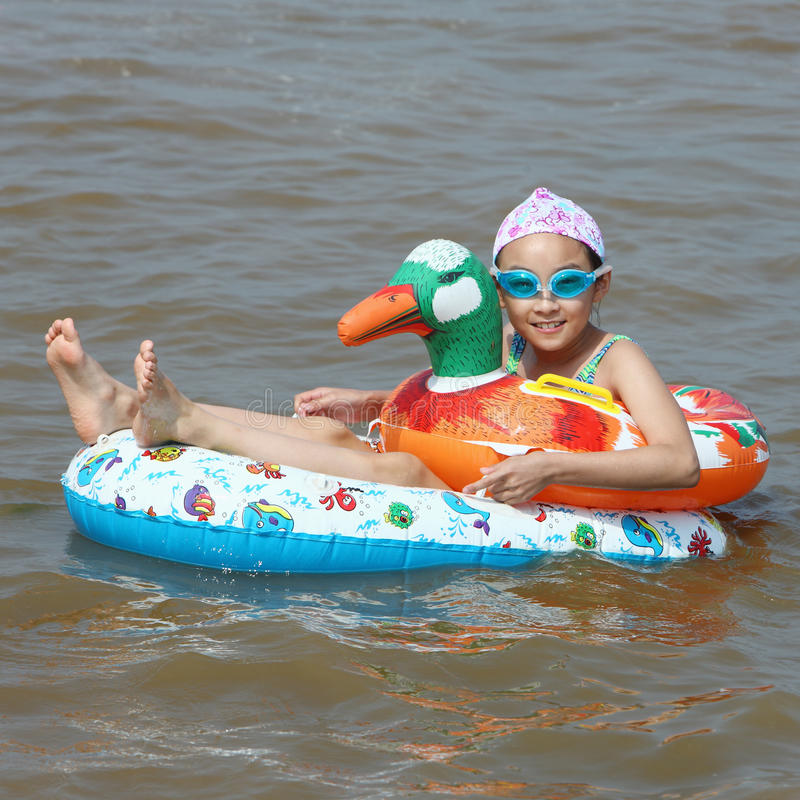 Free Child In The Sea Stock Photo - 10905970