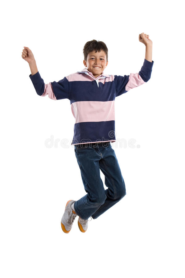 Download Child jumping stock photo. Image of happy, kids, fitness - 9793464