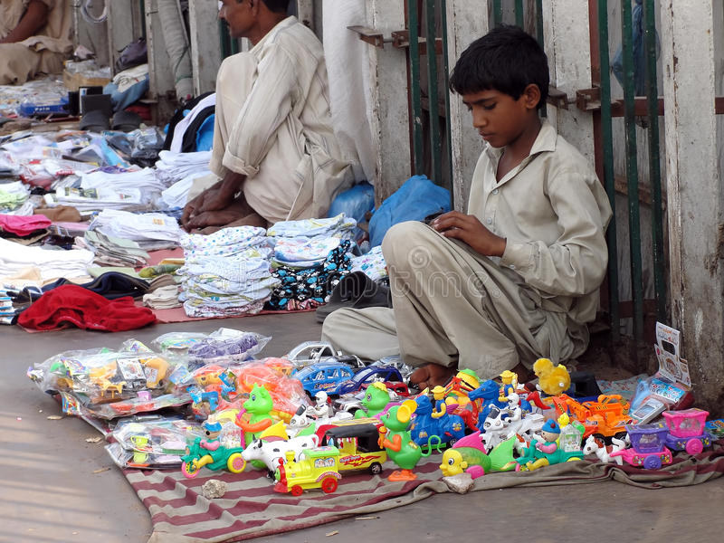 Download Child labor editorial stock image. Image of kiosk, below - 20776189