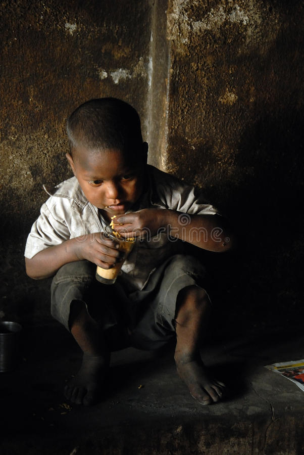 Child Labour stock photography