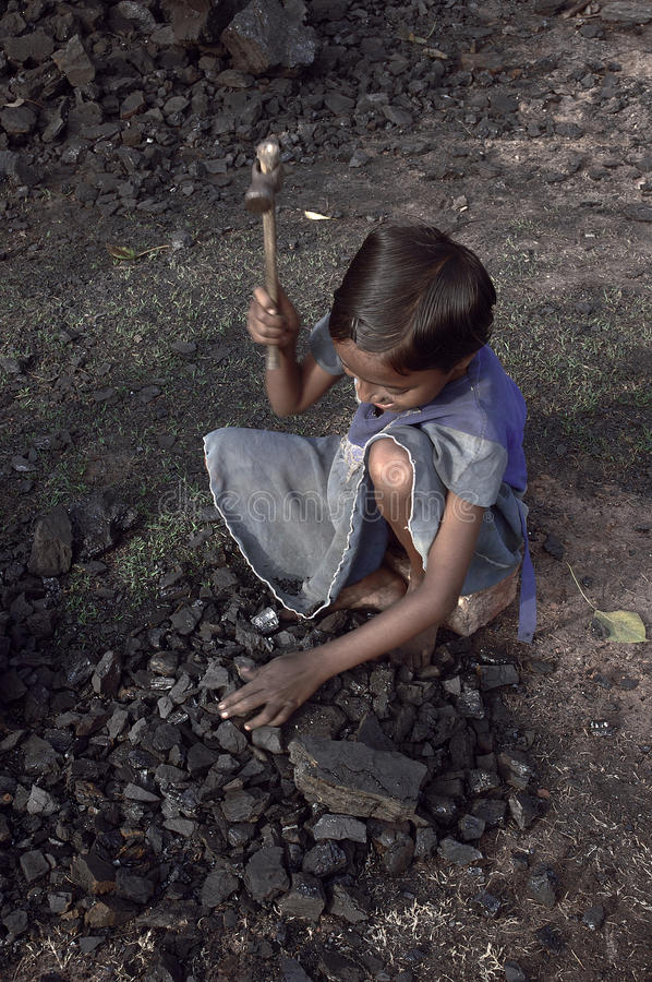 Download Child Labour At The Brick Field Editorial Photography - Image: 17812297