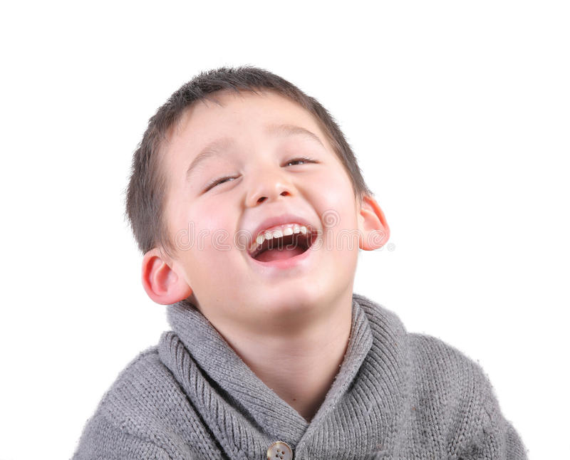 Download Child laughing stock photo. Image of lovely, cute, close - 23165720