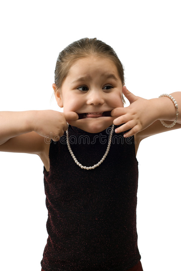 Download Child Making Faces Royalty Free Stock Photo - Image: 8397535