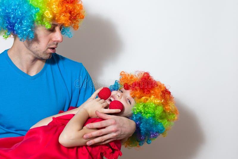 Clown Wig Clown Wig from Wool Clown Wig Clowns Hair Stuffed Costume