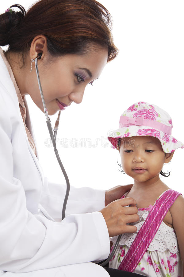 Download Child medical check-up stock photo. Image of face, diagnostic - 25053848