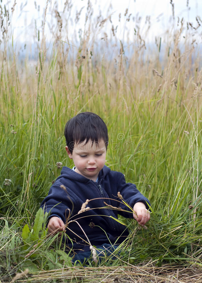 Child In Nature Royalty Free Stock Images