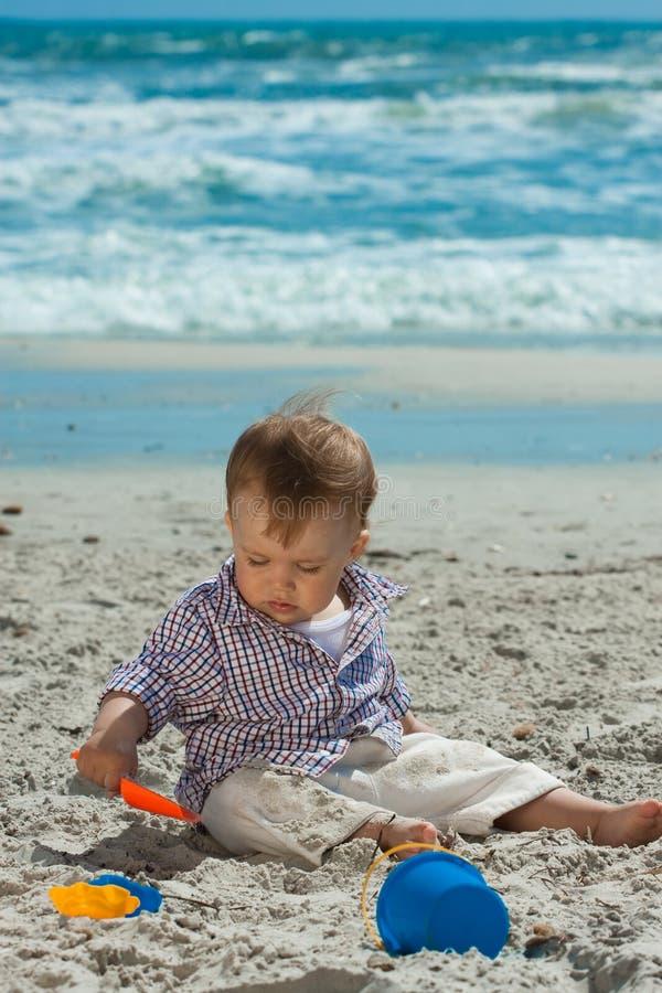 Free Child On A Beach Royalty Free Stock Photos - 14242198